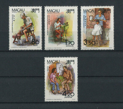 Portugal Macao Macau 1991 TYPICAL PROFESSIONS complete set MNH, FVF