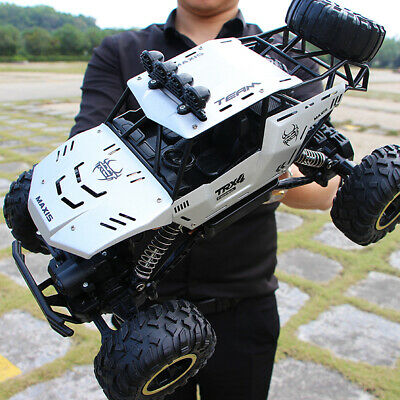 4WD RC Monster Truck Off-Road Vehicle 2.4G Remote Control Buggy Crawler Car AU