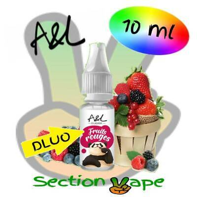 E liquide 10 ml A&L Fruits rouges