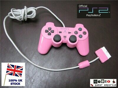 Official GENUINE Sony PlayStation 2  PS2 Pink DualShock 2 Analog Controller -