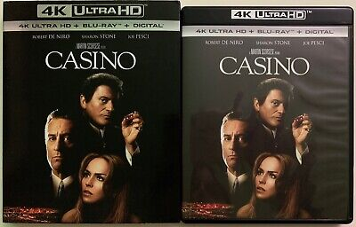Casino 4K Ultra Hd Blu Ray 2 Disc Set + Slipcover Sleeve Free World Wide Shippin