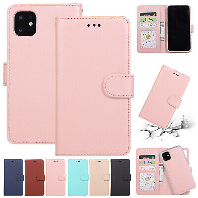 For iPhone 11 Pro Max Case 11 Pro Removable Magnetic Flip Leather Wallet Cover