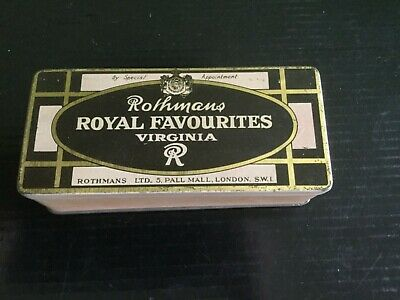 Rothmans  Tobacco Tin
