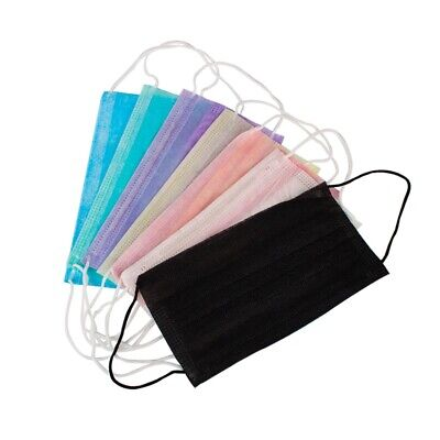 100Pcs/Pack Anti-Dust Windproof Mask Disposable Mouth Nose Face Care Eyelas I7H7