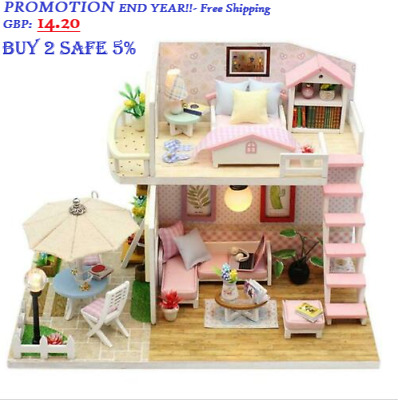 SURPRISES!! DIY Kit - LOL SURPRISE DOLL HOUSE Made with REAL WOOD -  free ship
