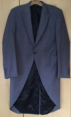 "Men's Tailcoat Jacket VGC 40""-42"" Chest.(Measures 44""). Grey. Possibly Unworn."