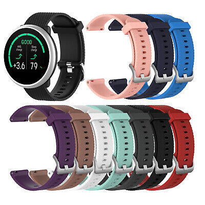 For POLAR Ignite Smart Watch Replacement Wristband Texture Silicone Strap CN