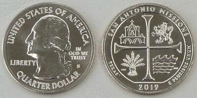 USA Quarter America the Beautiful - San Antonio Missions S 2019 unz.