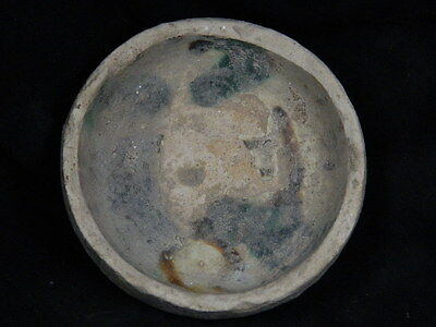 Ancient Glazed Bowl Islamic 1200 AD #PT15355