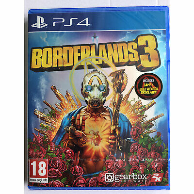 Borderlands 3 inc Bonus DLC PS4 New and Sealed IN STOCK NOW