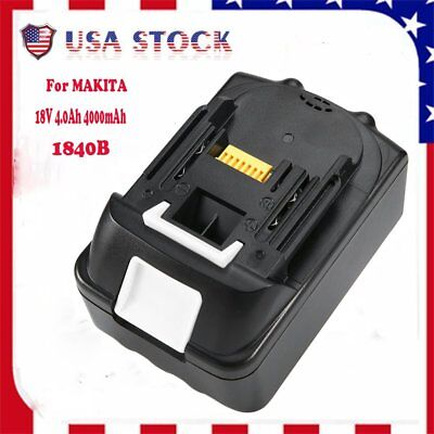 For Makita BL1840B LXT 18V 18-Volt 4.0Ah Lithium-Ion Battery Pack NEW BR