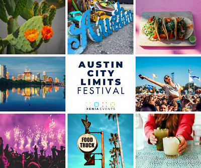 Austin City Limits Weekend One - FRIDAY General Admission - 10/4/19