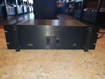 Forte Audio Model Forte. Tested Works Power Amp