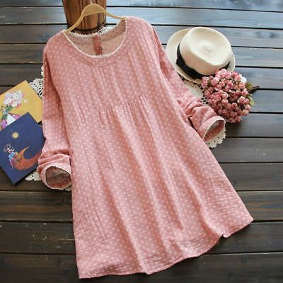 Casual Loose Maternity Clothing Dress Cotton Linen Clothes For Pregnant Women