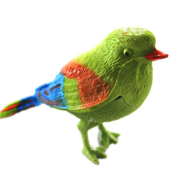 Singing Voice-activated Bird Toy Activate Simulated Control Chirping Latest
