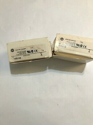 Allen-Bradley 1495-N9 Auxiliary Contact Ser. A New Lot Of 2