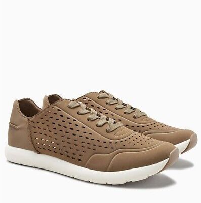 NEW Next Mink Perforated Trainers Womens Girls Size 5 RRP £35