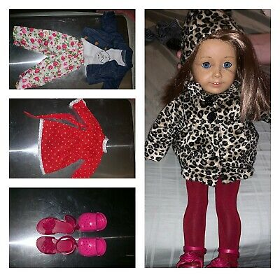 American Girl Doll of Today Retired 2008 Skateboard Outfit Shoes ONLY