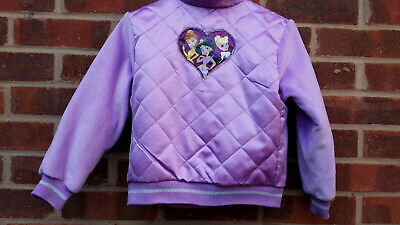 Vintage Purple Disney Princess Jacket size 6 Years