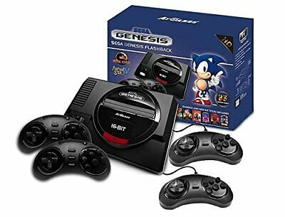 Sega Genesis Flashback HD Console - 85 Built - In Games (2017 Version)