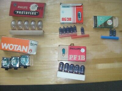 Job Lot Vintage Camera Flash Bulbs/Cubes Etc New/Old Stock.