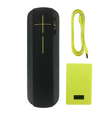 Ultimate Ears UE MEGABOOM Wireless Waterproof Portable Speaker Panther Black
