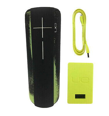 Ultimate Ears MEGABOOM Wireless Waterproof Portable Speaker Neon Frost Green