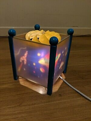 Vintage Magic Spinning Lamp Space Theme Children's Reflective Lamp