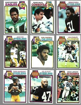 1979 Topps Football Complete Set of 528 Campbell Lofton Newsome HoF RC N MINT