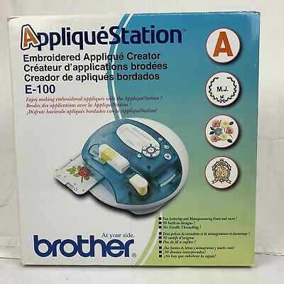 Brother Embroidery Applique Station Patchmaker E100 New In Box