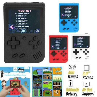 Built-in 400 Games 3 inch Handheld Retro FC Game Console Mini Game Player Set