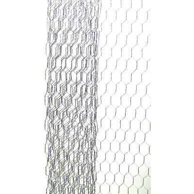 Darice Chicken Wire Net Galvanized Finish 18 x 39 inches