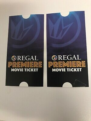 Regal cinemas premiere movie tickets (United Artist, Edwards, Regal)