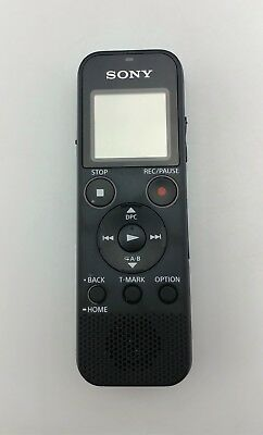 Sony ICDPX370 4GB Digital Voice Recorder Good Shape