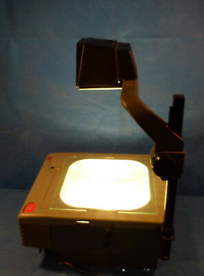 3M 9100 Overhead Projector With Two New 360 Watt Enx Builbs
