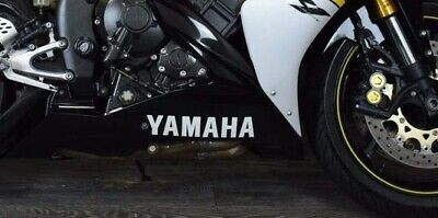 Yamaha belly pan stickers decals - motorcycle fairing