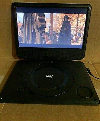 "Polaroid T-901 Rechargeable Portable DVD Player 9"" Screen"