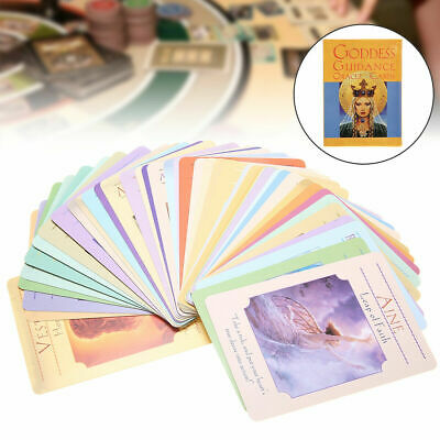 In Box Goddess Guidance Oracle Cards Doreen Virtue 44 Cards Deck English Y8I4T