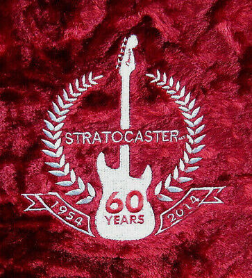 Fender G&G 60th Anniversary 1954 - 2014 Stratocaster Strat Tweed LE Guitar Case