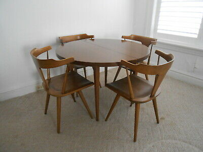 Paul McCobb Planner Group Dining Table 2 Leafs Winchedon Furniture Co. MCM 1958