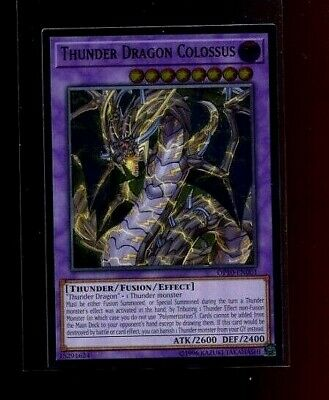 Yu-Gi-Oh! Thunder Dragon Colossus Ultimate Rare OP10-EN001