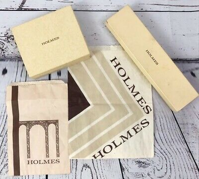 Vintage DH Holmes Department Store Boxes Bags New Orleans Shopping Nostalgia