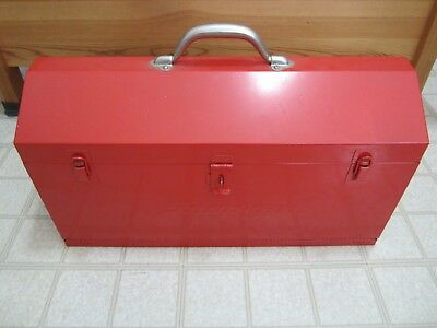 "Snap-on KRA-21 Tool Box 21"" Box, Metal, 2 Drawers, Removable Tote Tray"