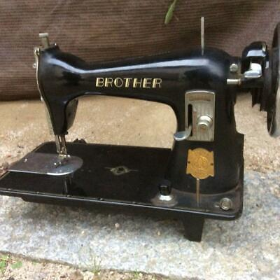 Brother hand-operated sewing machine retro antique Vintage Old tool object junk