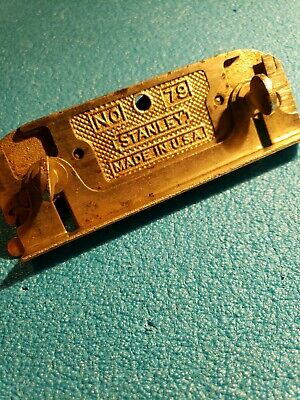 Vintage Stanley No.79 Double Sided Rabbit Plane