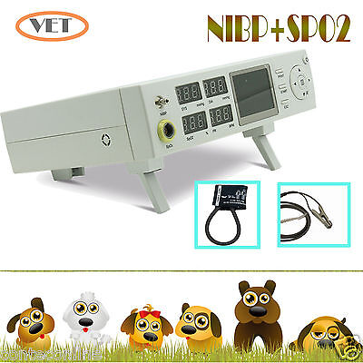 NEW CE Vet Veterinary Patient Monitor NIBP Blood Pressure Pulse Rate SPO2  Pets