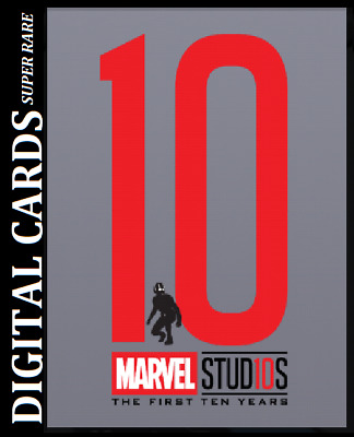 Topps Marvel Collect Card Trader First Ten Years Silhouettes Die Cut Ant-Man