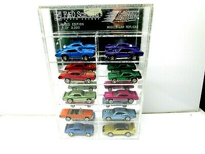 Muscle Cars Fao Schwarz Replicas Johnny Lightning Limited Edition 1 of 3000