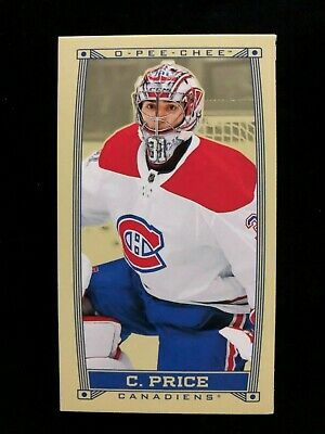 2019-20 O-PEE-Chee Caramel Minis Carey Price SP #C-30 OPC Montreal Canadiens