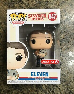 Funko Pop! Stranger Things #847 Eleven with Bear Target Exclusive NIB